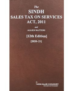 Sindh Sales Tax on Services Act, 2011