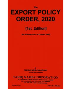 Export Policy Order, 2020