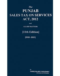 Punjab Sales Tax on Services Act, 2012