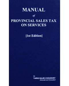 Manual Of Provincial Sales Tax On Services