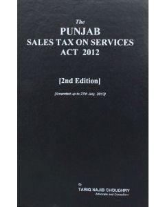 Punjab Sales Tax on Services Act 2012