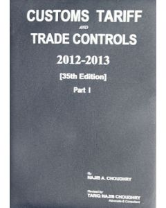 Customs Tariff and Trade Control 2012-2013