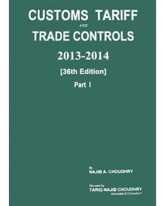 Customs Tariff and Trade Controls 2013-2014