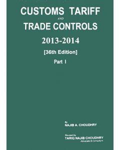 Customs Tariff and Trade Controls 2013-2014