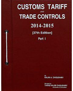 Customs Tariff and Trade Controls 2014-2015