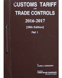 Customs Tariff and Trade Controls 2016-2017