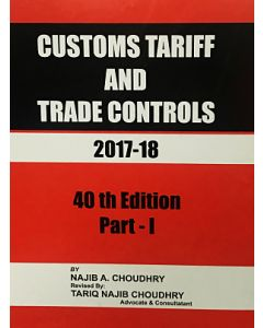 Customs Tariff and Trade Controls 2017-2018