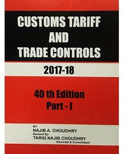 Customs Tariff and Trade Controls 2017-2018