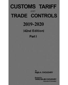 Customs Tariff and Trade Controls 2019 - 2020