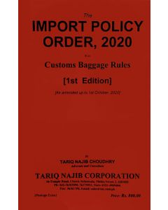 Import Policy Order, 2020