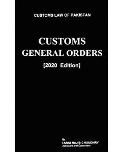 Customs General Orders