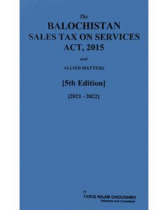 Balochistan Sales Tax on Services Act, 2015
